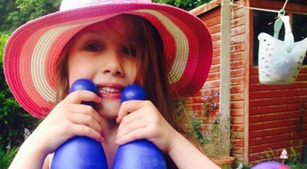Summer Grant died when the bouncy castle she was playing on blew away (PA Picture desk)