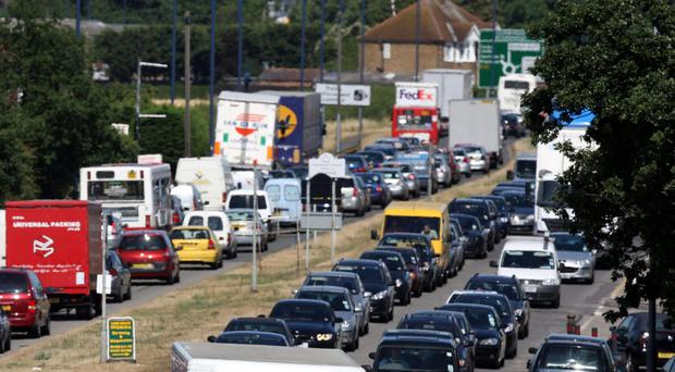 A stretch of the A30 near Heathrow Airport (Steve Parsons/PA)