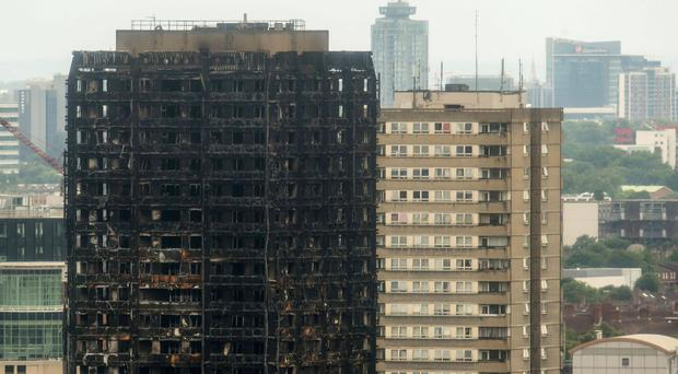 Thirty-nine victims of the Grenfell Tower fire have now been identified, but many more are expected (Dominic Lipinski/PA)