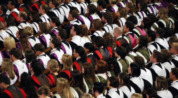 Almost all universities and colleges are giving out a higher proportion of firsts than in 2010/11, figures show (David Cheskin/PA)