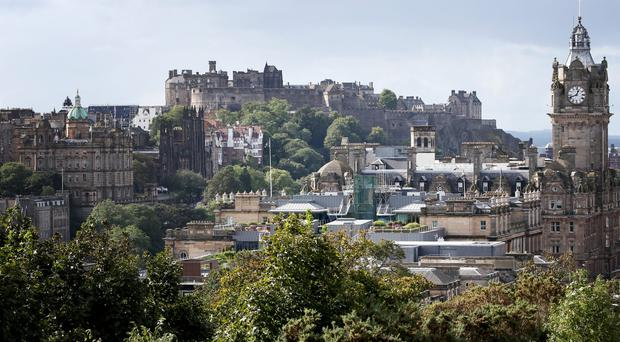 The city of Edinburgh and the surrounding area is to benefit from investment under the UK City Deal scheme (Jane Barlow/PA )