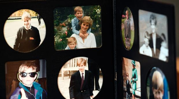 Some of the personal effects of Diana to go on show at Buckingham Palace