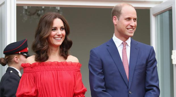 William and Kate will visit the Maritime Museum in Hamburg (Chris Jackson/PA)