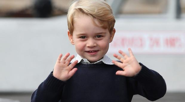 Prince George is approaching his fourth birthday (Andrew Milligan/PA)