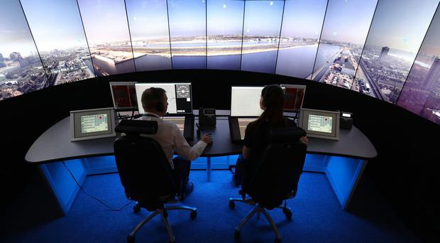 Air traffic controllers are in for a busy day (Andrew Matthews/PA)