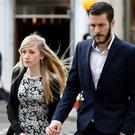Connie Yates and Chris Gard say there is new evidence (Lauren Hurley/PA)