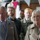Camilla and Charles are on the third day of their annual summer tour of Devon and Cornwall (Matt Cardy/PA)