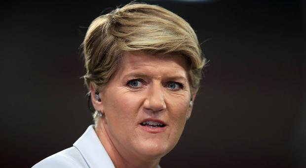 Clare Balding is one of 40 women to protest against the gender pay gap (Mike Egerton/PA)
