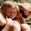 Diana and Harry. (The Duke of Cambridge and Prince/PA)