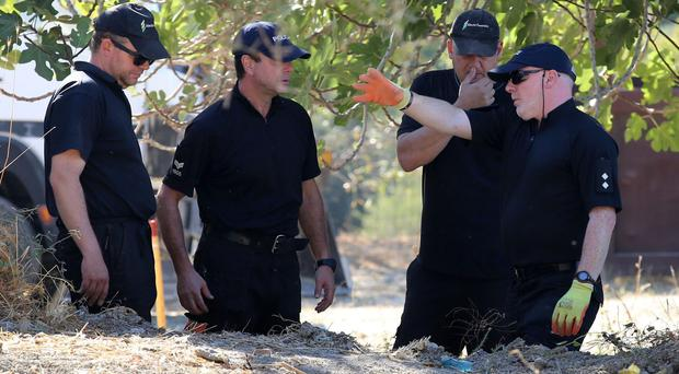 South Yorkshire Police formally ended a search on the Greek island last October (Gareth Fuller/PA)