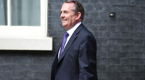 Liam Fox will hold two days of talks at the first UK-US trade and investment working group (David Mirzoeff/PA)