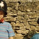 William and Harry dressed as policemen (Duke of Cambridge and Prince Harry/PA)