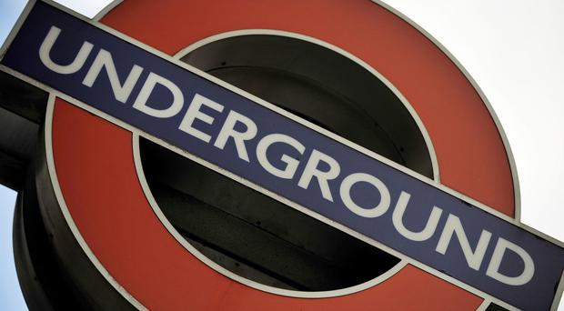 The incident happened at Canning Town tube station (Nick Ansell/PA)