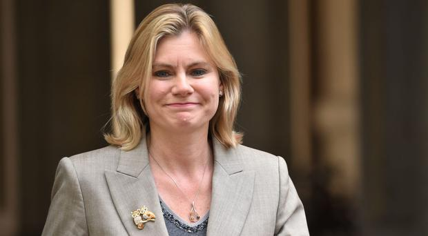 Justine Greening is the Equalities Minister (David Mirzoeff/PA)