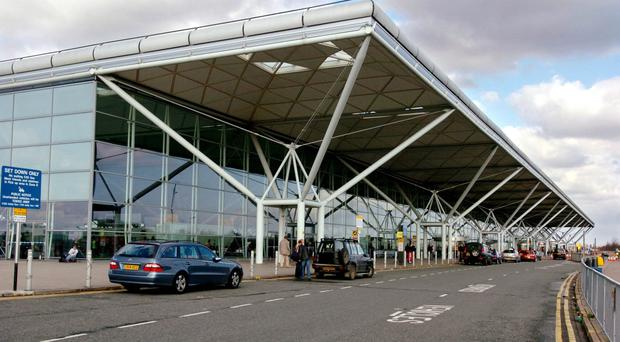 The 16-year-old was arrested at Stansted Airport (Chris Radburn/PA)