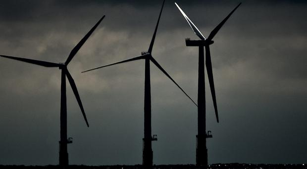 Conventional offshore wind farms are not able to located at waters that are too deep (Daniel Law/PA)