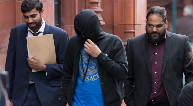 Tejinder Bhuee, Amar Paul and Zafar Iqbal admitted the charges (Aaron Chown/PA)