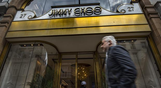 Jimmy Choo put itself up for sale in April (PA)
