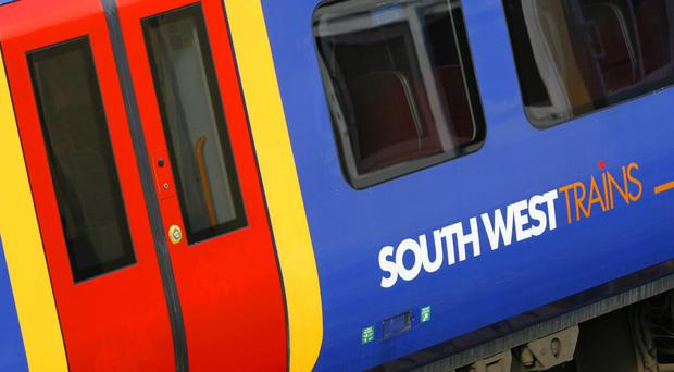 An explosion occurred on a South West Trains service earlier this month (Chris Ison/PA)