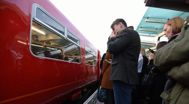 Transport Focus reported a three percentage points rise in spring compared with the same time in 2016 (Kirsty O'Connor/PA)