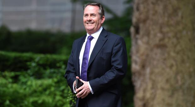 Liam Fox is in Washington for talks with US trade representatives (David Mirzoeff/PA)