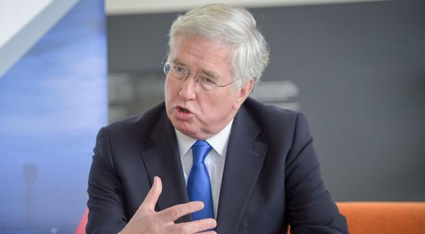 Fallon is heading to Sydney for a summit of UK and Australian defence and foreign ministers (Ben Birchall/PA)