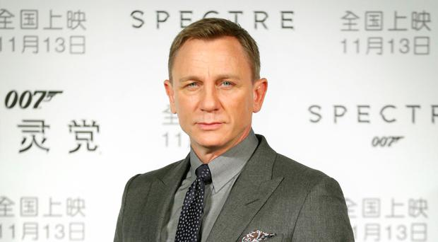 Action star: Daniel Craig