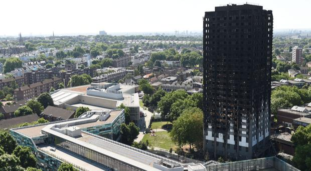 The head of the Grenfell Tower inquiry has faced calls to resign (David Mirzoeff/PA)