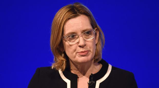 Amber Rudd will ask the Migration Advisory Committee to assess the role of EU nationals in the UK (Joe Giddens/PA)