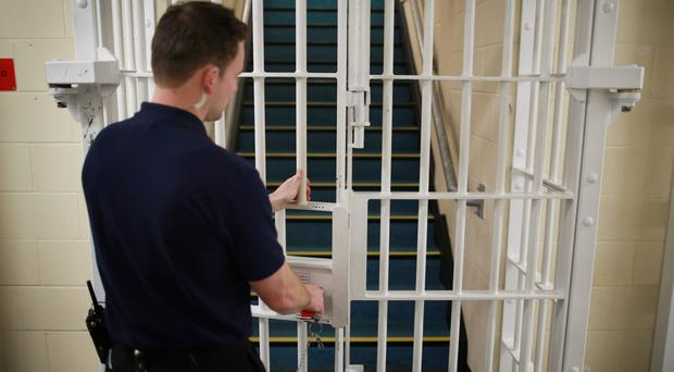 The Ministry of Justice has released prison statistics (Peter Macdiarmid/PA)