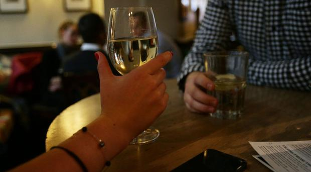Drinking in moderation could reduce the risk of diabetes according to the study (Yui Mok/PA)