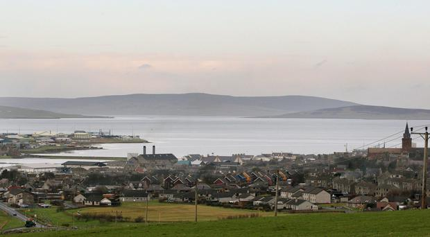 Pupil Teighan Scott will travel to school in Mainland Orkney (David Cheskin/PA)