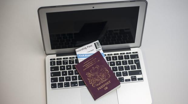The UK has eased a ban on carrying large electronic devices in aircraft cabins on flights from one of six countries subject to the restrictions ( Lauren Hurley/PA)