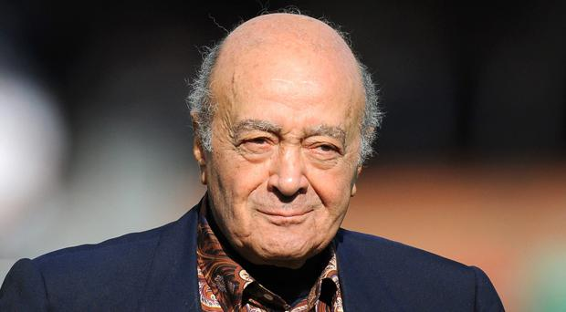 Mohamed al-Fayed has criticised a new book about the relationship between his son Dodi and Princess Diana ( Joe Giddens/Empics)