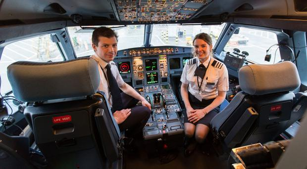 Married pilots tell of great fun they have flying BA