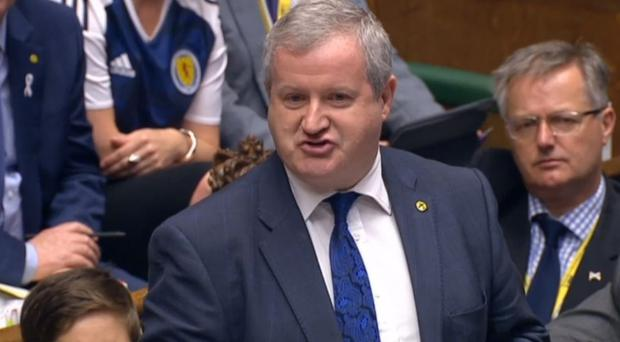 SNP's Westminister leader Ian Blackford feels postponing a second referendum has given his party time to discuss the fundamentals of independence (PA Wire)