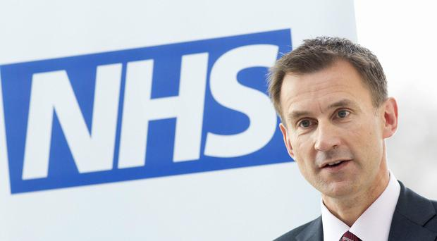 Mental health plan will see 21000 new posts created, Jeremy Hunt says