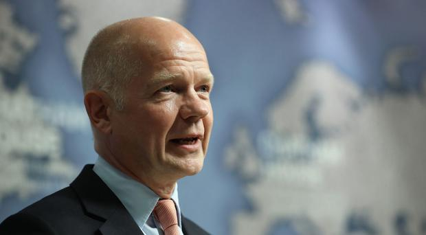 Former foreign secretary William Hague said the Chancellor deserves credit (PA)