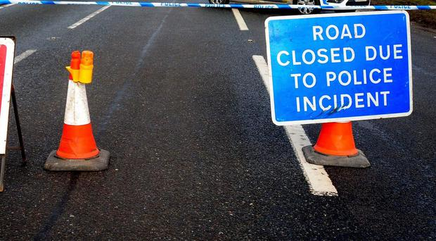 Two children died in the crash on the A361 in north Devon (PA)
