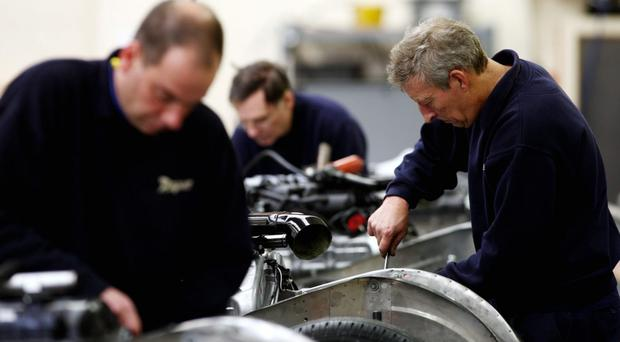 Foreign demand for UK manufacturing output sees fastest rise since 2010 (PA Wire)