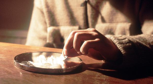 A total of 371 deaths involved cocaine (Chris Young/PA)