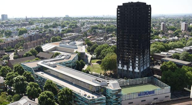 Residents of flats near Grenfell Tower 'to receive £2.7m in council support' (PA Wire)