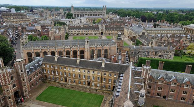 Cambridge university is one of the Russell Group members (PA)
