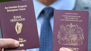 Demand for Irish passports has doubled within in the last year