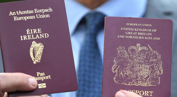 Demand for Irish passports has doubled within the year in the UK