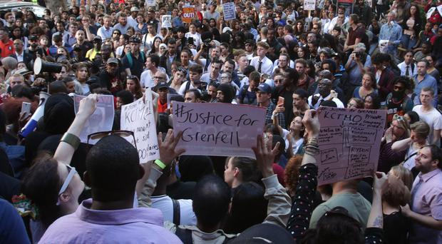 Justice4Grenfell included six suggestions for the terms of reference (Yui Mok/PA)