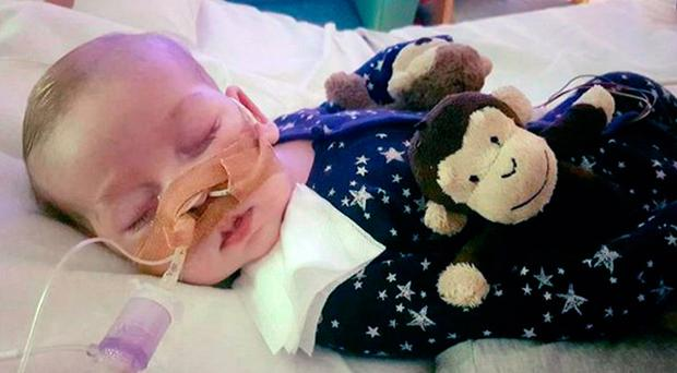Human tragedy: Charlie Gard
