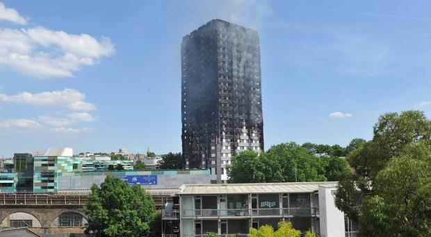 At least 80 people died when a fire devastated the 24-storey block last month (Nick Ansell/PA)