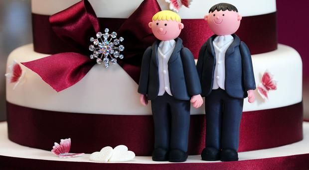 Northern Ireland is the only part of the British Isles where same-sex marriage remains outlawed (Rui Vieira/PA)
