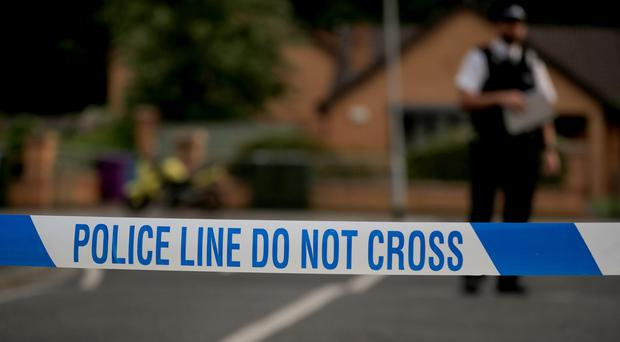 Baddow Road has been closed for forensic examination work (Peter Byrne/PA)